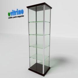vitrine turn din aluminiu clasic, vitrina expunere turn, vitrine pentru magazin, vitrine din sticla, vitrine din sticla pentru magazin, vitrine bijuterii, vitrine muzeu, mobilier bijuterii, mobilier muzeu, vitrine la comanda