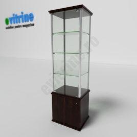 vitrina cu spatiu depozitare, vitrine turn din aluminiu clasic, vitrine pentru magazin, vitrine din sticla, vitrine din sticla pentru magazin, vitrine bijuterii, vitrine muzeu, mobilier bijuterii, mobilier muzeu, vitrine la comanda