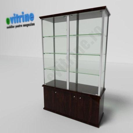 vitrina din sticla magazin, vitrine turn din aluminiu clasic, vitrine pentru magazin, vitrine din sticla, vitrine din sticla pentru magazin, vitrine bijuterii, vitrine muzeu, mobilier bijuterii, mobilier muzeu, vitrine la comanda