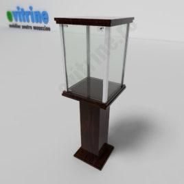 vitrina din sticla piedestal, vitrine piedestal din aluminiu clasic, vitrine pentru magazin, vitrine din sticla, vitrine din sticla pentru magazin, vitrine bijuterii, vitrine muzeu, mobilier bijuterii, mobilier muzeu, vitrine la comanda