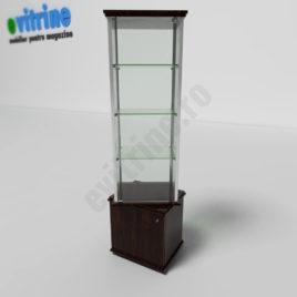 vitrina din sticla, vitrine turn din aluminiu clasic, vitrine pentru magazin, vitrine din sticla, vitrine din sticla pentru magazin, vitrine bijuterii, vitrine muzeu, mobilier bijuterii, mobilier muzeu, vitrine la comanda