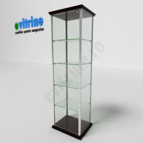 vitrine turn din aluminiu clasic, vitrina expozitie pentru magazin, vitrine pentru magazin, vitrine din sticla, vitrine din sticla pentru magazin, vitrine bijuterii, vitrine muzeu, mobilier bijuterii, mobilier muzeu, vitrine la comanda