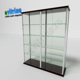 vitrina mare pentru expunere, vitrine turn din aluminiu clasic, vitrine pentru magazin, vitrine din sticla, vitrine din sticla pentru magazin, vitrine bijuterii, vitrine muzeu, mobilier bijuterii, mobilier muzeu, vitrine la comanda;