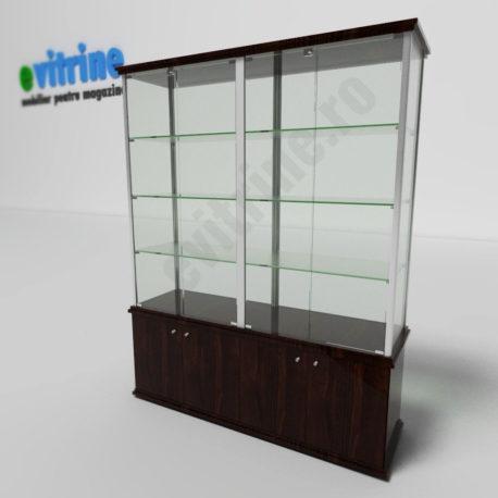 vitrina sticla magazine, vitrine turn din aluminiu clasic, vitrine pentru magazin, vitrine din sticla, vitrine din sticla pentru magazin, vitrine bijuterii, vitrine muzeu, mobilier bijuterii, mobilier muzeu, vitrine la comanda