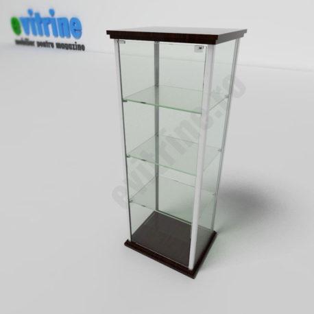 vitrine turn din aluminiu clasic, vitrina sticla turn, vitrine pentru magazin, vitrine din sticla, vitrine din sticla pentru magazin, vitrine bijuterii, vitrine muzeu, mobilier bijuterii, mobilier muzeu, vitrine la comanda