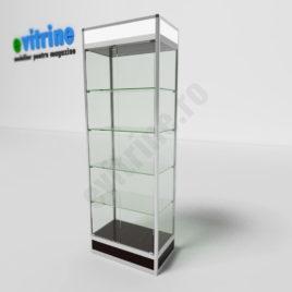 vitrine mobilier magazin, vitrine turn din aluminiu modern, vitrine pentru magazin, vitrine din sticla, vitrine din sticla pentru magazin, vitrine bijuterii, vitrine muzeu, mobilier bijuterii, mobilier muzeu, vitrine la comanda