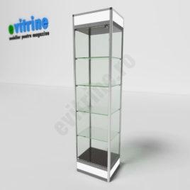 vitrine sticla, vitrine turn din aluminiu modern, vitrine pentru magazin, vitrine din sticla, vitrine din sticla pentru magazin, vitrine bijuterii, vitrine muzeu, mobilier bijuterii, mobilier muzeu, vitrine la comanda