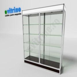 vitrine expozitie magazin, vitrine turn din aluminiu modern, vitrine pentru magazin, vitrine din sticla, vitrine din sticla pentru magazin, vitrine bijuterii, vitrine muzeu, mobilier bijuterii, mobilier muzeu, vitrine la comanda