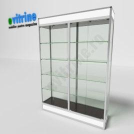 vitrine expozitionale din sticla, vitrine turn din aluminiu modern, vitrine pentru magazin, vitrine din sticla, vitrine din sticla pentru magazin, vitrine bijuterii, vitrine muzeu, mobilier bijuterii, mobilier muzeu, vitrine la comanda