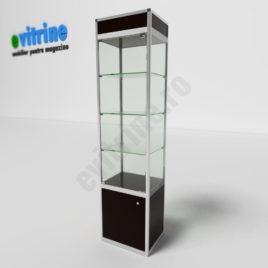vitrine sticla magazin, vitrine turn din aluminiu modern, vitrine pentru magazin, vitrine din sticla, vitrine din sticla pentru magazin, vitrine bijuterii, vitrine muzeu, mobilier bijuterii, mobilier muzeu, vitrine la comanda